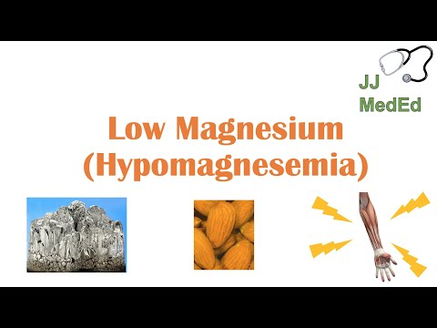Low Magnesium (Hypomagnesemia) | Causes, Symptoms, Treatment | & Role Of Magnesium, Dietary Sources