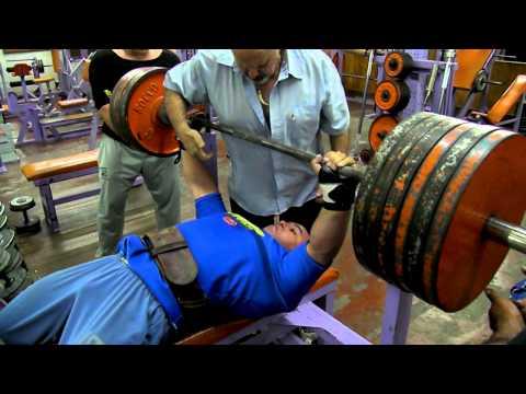 Eduardo Alcaraz  260 kg   Fuerza en Banco  Gimnasio Dimaro