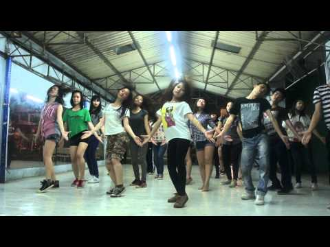Lop hoc nhay hien dai Binh Thanh - On The Floor - [BoBo