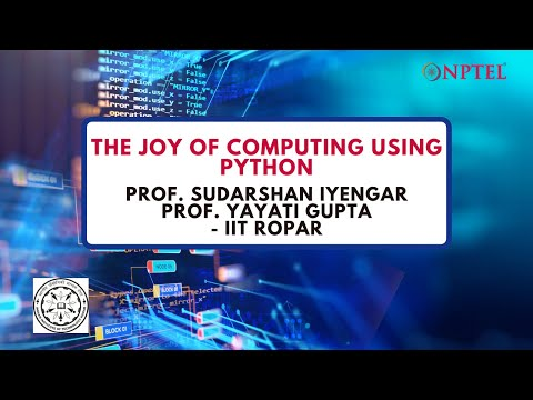 Introduction Joy of Computing