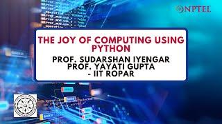 Introduction Joy of Computing thumbnail