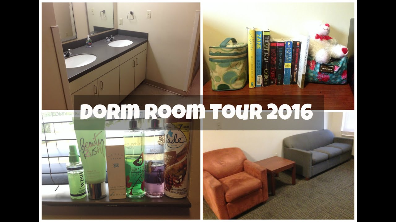 Charming Alabama State University | Co Ed Dorm Room Tour 2016 || TyraNoBanks Part 2