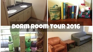 Alabama State University | Co Ed Dorm Room Tour 2016 || TyraNoBanks