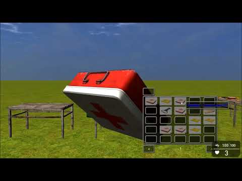 new 2018 GameGuru 3D inventory |
