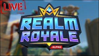 Берем ТОП 1 в Realm Royale/соло/дуо/квадра