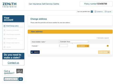 Zenith Self Service Centre help video