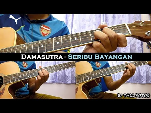 Damasutra - Seribu Bayangan (Instrumental/Full Acoustic/Guitar Cover)