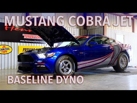 871 RWHP Mustang Cobra Jet Baseline Chassis Dyno Testing