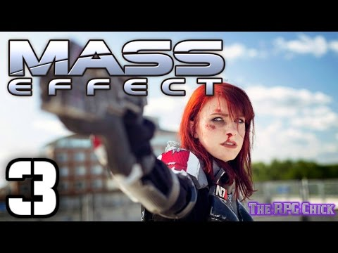 Let's Play Mass Effect (Blind), Part 3: Introducing Ashley Williams