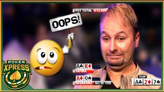 When Daniel Negreanu has Lady Luck on his side!
