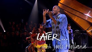 femi kuti and his positive force perform one people one world on later with jools