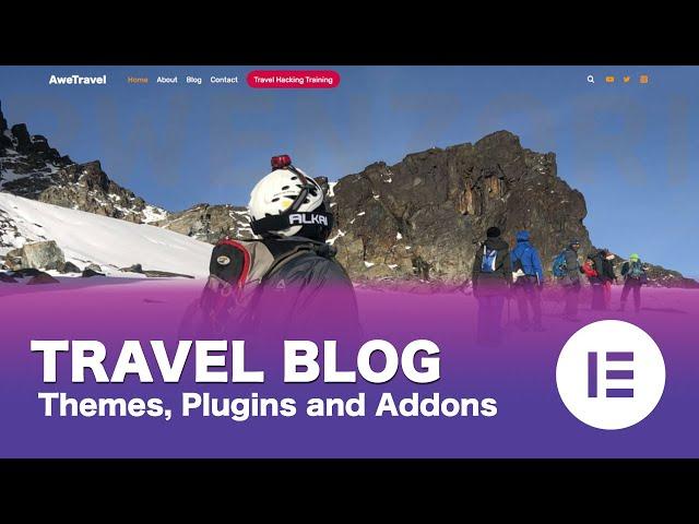[Part 03/15] Make a Free WordPress Travel Blog Using Elementor