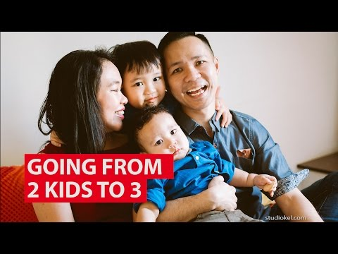 Going From 2 Kids To 3 | The Family Affair | CNA Insider