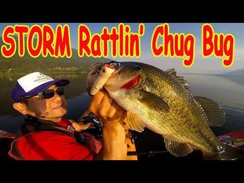 Storm Rattlin' Chug Bug -A Good Topwater Bass Fishing Day-