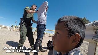 De la mano de sus hijos menores los inmigrantes encuentran una nueva forma de entrar a EEUU