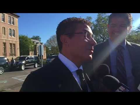Daniel Snyder on Tom Benson: He told great, great stories