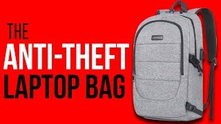 $25 Mosiso Anti-Theft Laptop Backpack