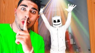 MARSHMELLO MAKES ME A SURPRISE PARTY 'Fortnite in real life'