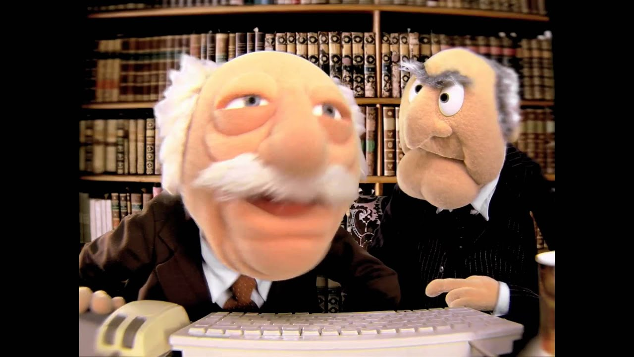 statler waldorf mmph the muppets youtube. Black Bedroom Furniture Sets. Home Design Ideas