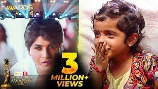 Aradhana's Cute Reaction to Sivakarthikeyan AV | Galatta Debut Awards 2018