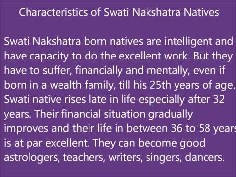Swati Nakshatra Characteristics