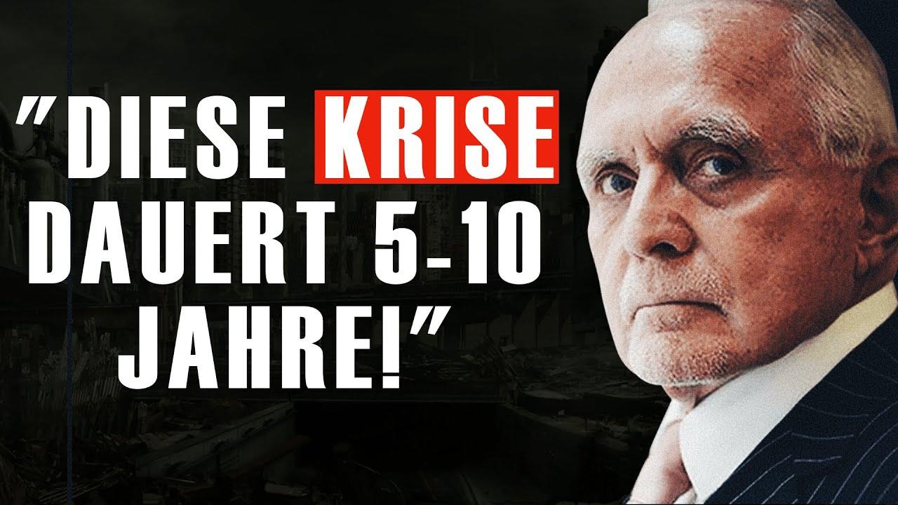 """DIESE KRISE DAUERT 5-10 JAHRE!"" (Dan Pena)"