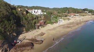 Spiaggia di Lacona e laghetto di Terra nera - Isola d'Elba