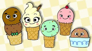 Ice Cream Finger Family   Mother Goose Club Kids Songs