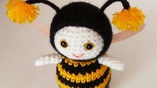 Фігурки з гумок без верстата/Як плести з гумок іграшки/Бджілка/Вироби Ідеї рукоділля