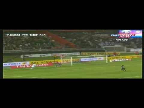 16.05.09 Bramka Jelenia na 0-2 (PSG-Auxerre)