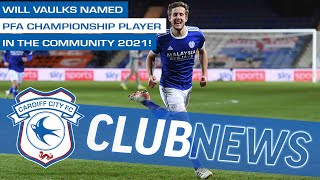 PFA CHAMPIONSHIP PLAYER IN THE COMMUNITY 2021 | WILL VAULKS