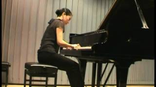 Michio Mamiya: 3 Preludes - Naoko Christ-Kato - Piano Class Prof. Fock