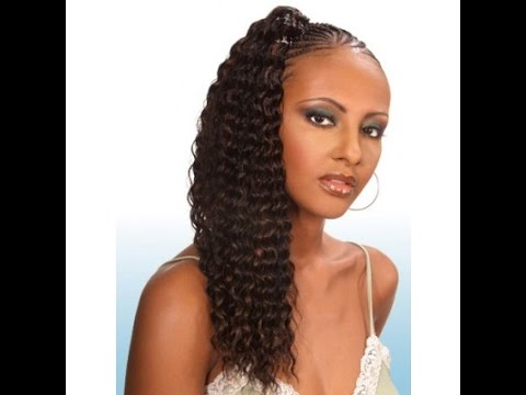 Crochet Braids Loose Hair : Crochet Braids with Loose Deep Bulk Hair - YouTube