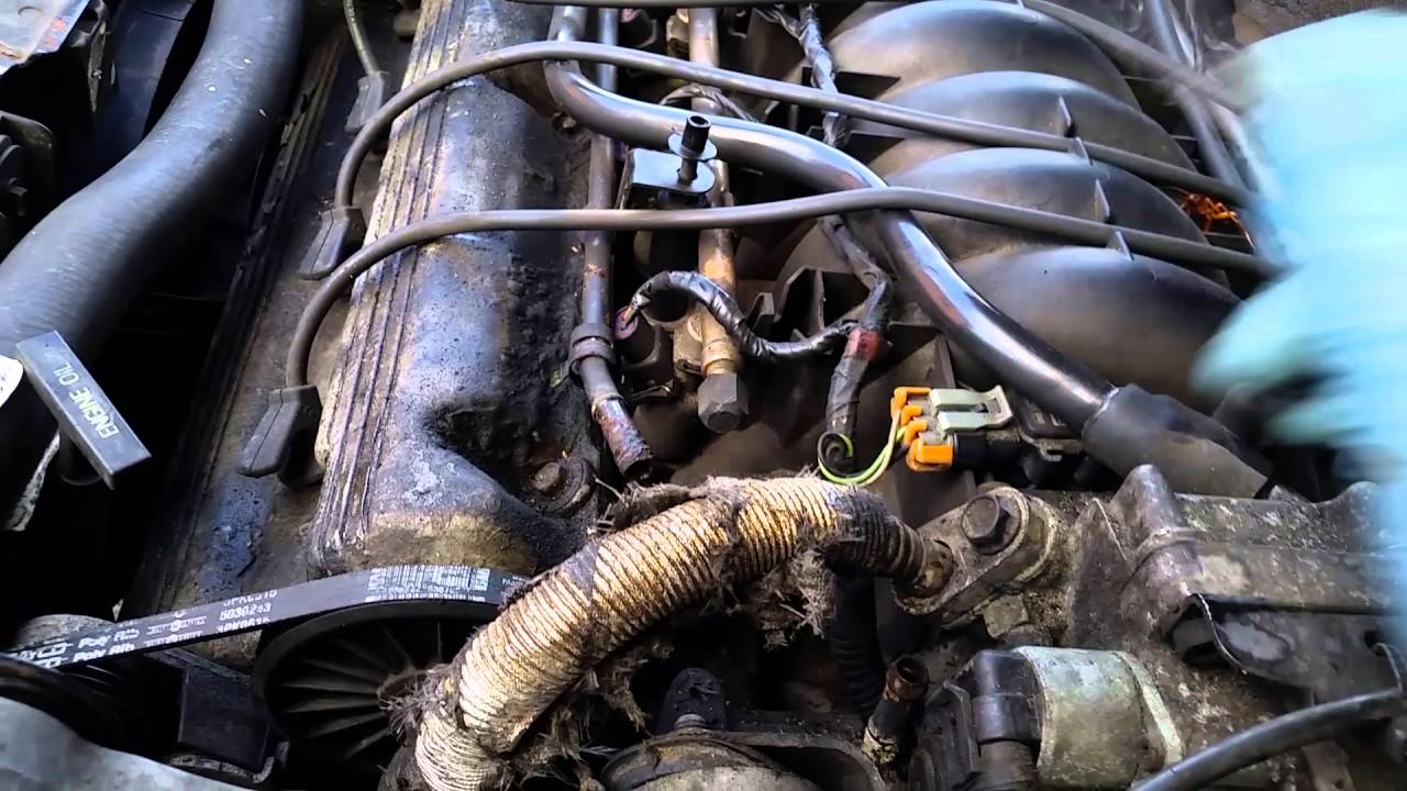 medium resolution of cadillac deville 1994 1999 coolant hose bypass for overheating engine issue youtube