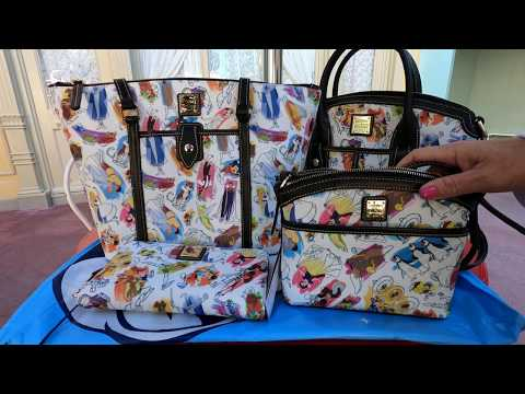 Disney Ink & Paint By Dooney & Bourke Handbag Review