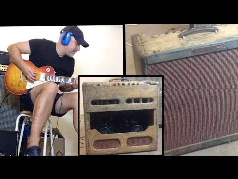 The Greatest Guitar Amp Of All Time - Original Fender 1959 Bassman