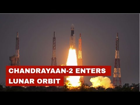 Chandrayaan-2 enters lunar orbit, another big success for ISRO