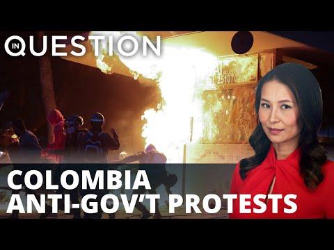 Death toll rises in Colombia anti-gov't protests