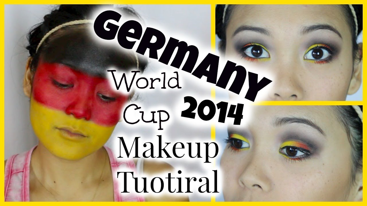 World Cup Makeup Tutorial