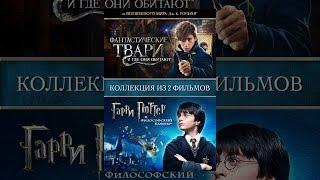 Коллекция из 2х фильмов: Фантастические твари и где они обитают и Гарри Поттер и философский камень