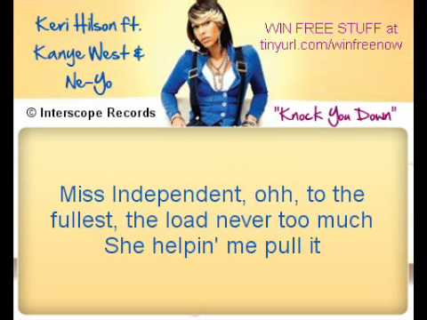 Knock You Down *LYRICS* --- Keri Hislon ft Kanye West & Ne-Yo