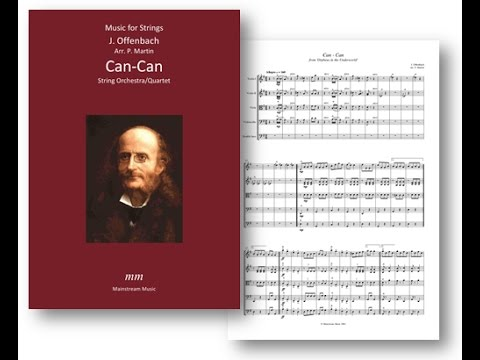 Can - Can - String Orchestra/Quartet