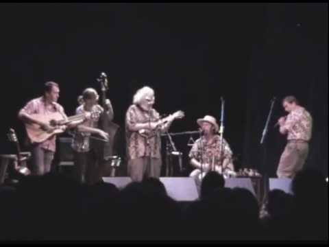 David Grisman Quintet - Show starts - 8-30-2003 - Bayfield, WI