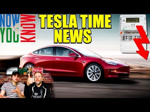 Tesla Time News - EVs Make Electricity Cheaper? and more!