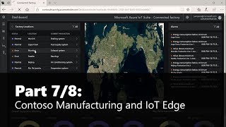 Part 7/8 Contoso Manufacturing and IoT Edge