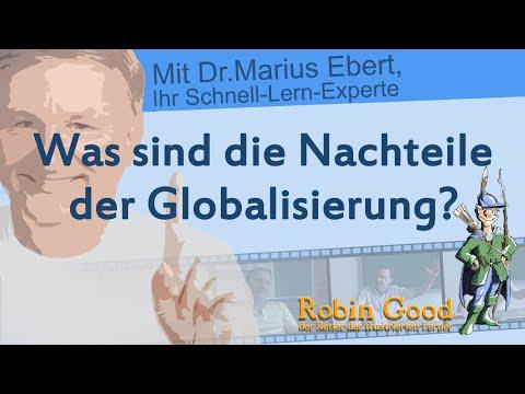 Was sind die Nachteile der Globalisierung? - YouTube