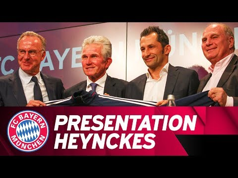 LIVE 🔴 | Vorstellung Jupp Heynckes