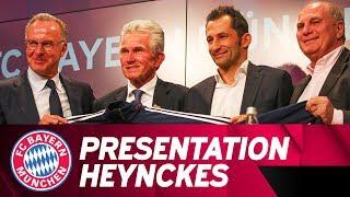 ReLive | Presentation of Jupp Heynckes