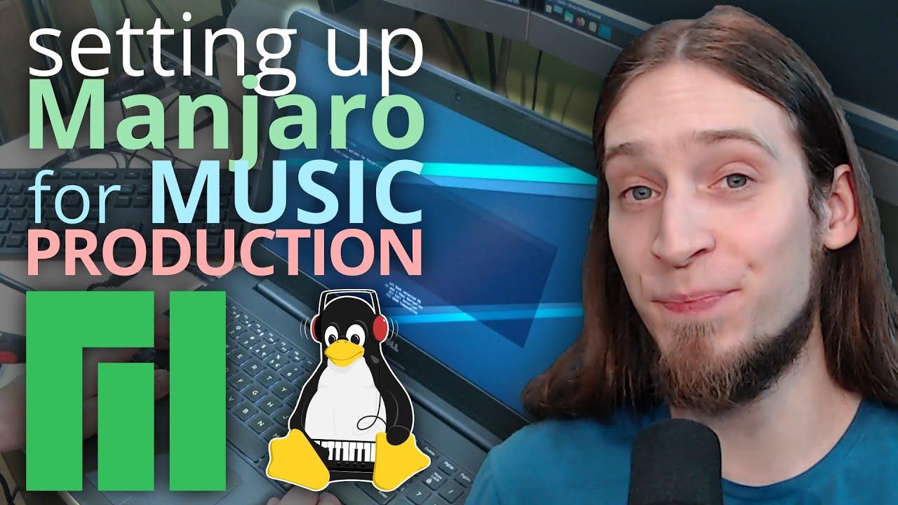How do I prepare Manjaro KDE for audio production?