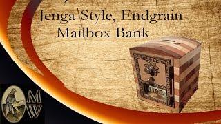 Jenga-style Mailbox Bank (monkwerks)